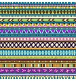 Original drawing tribal doddle ethnic pattern vector