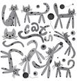 Cats - cartoons vector