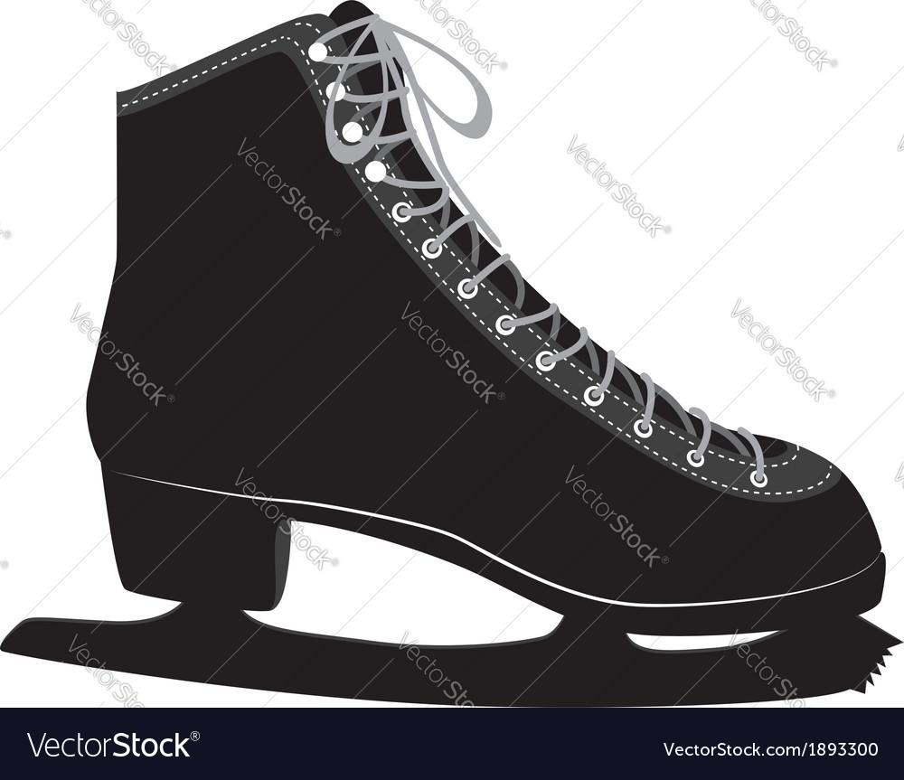 Ice skate vector | Price: 1 Credit (USD $1)
