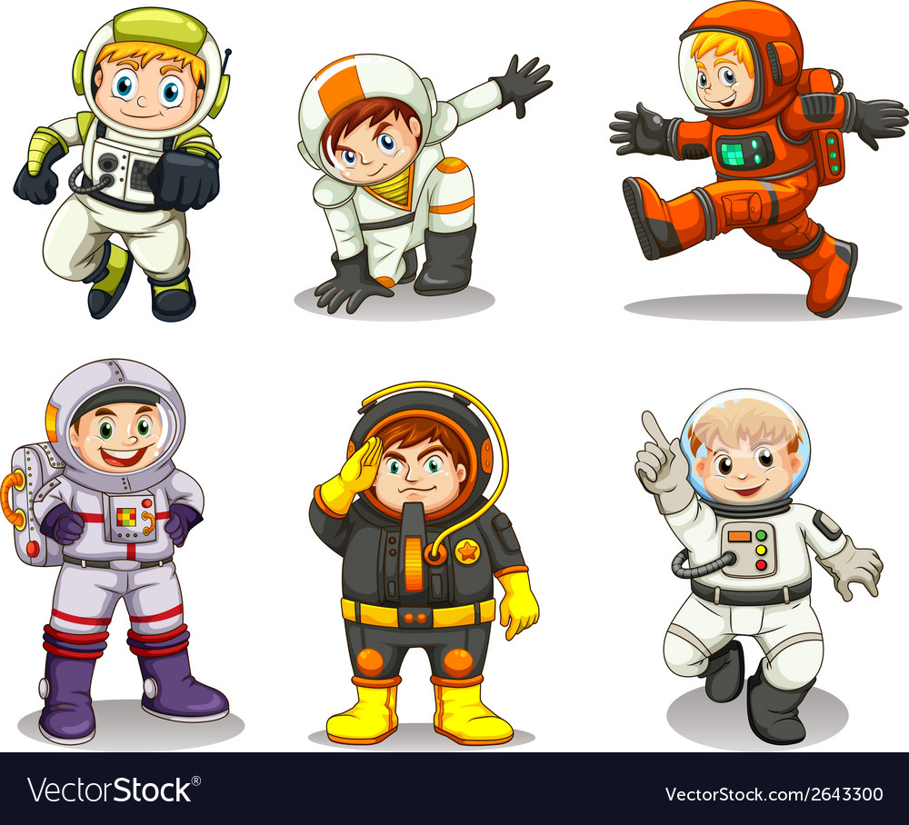 Young explorers vector | Price: 3 Credit (USD $3)