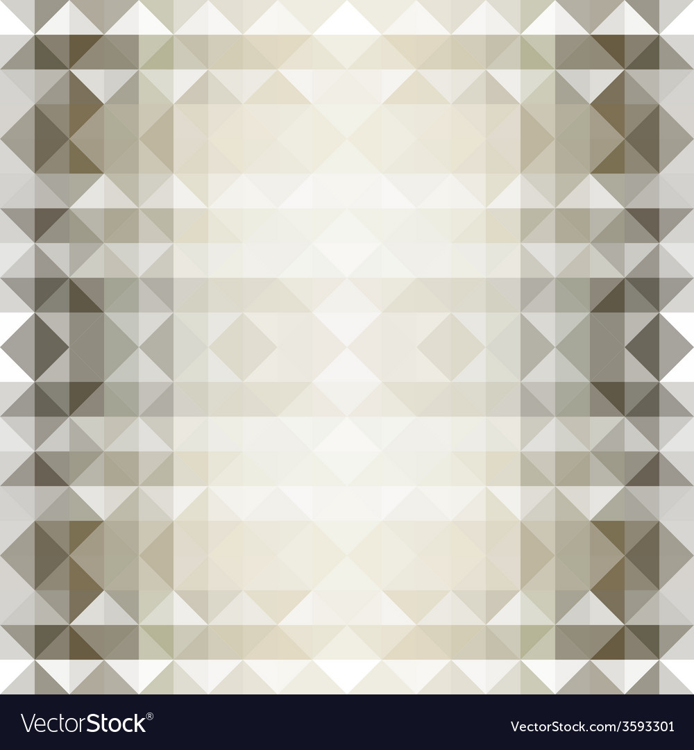 Brown seamless triangle abstract background vector | Price: 1 Credit (USD $1)