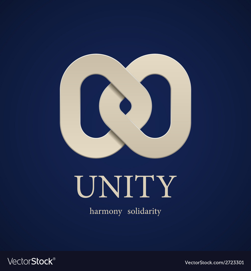 Unity symbol design template vector | Price: 1 Credit (USD $1)