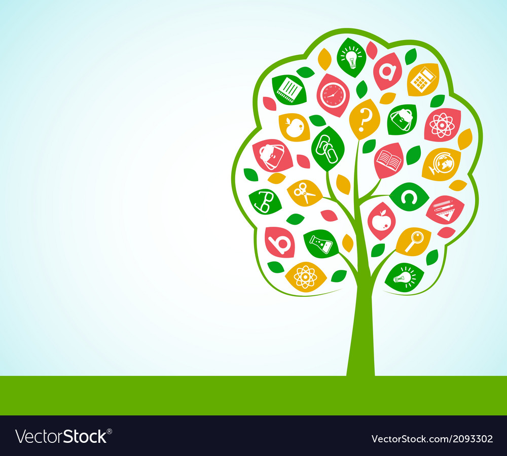 Tree of knowledge concept vector | Price: 1 Credit (USD $1)