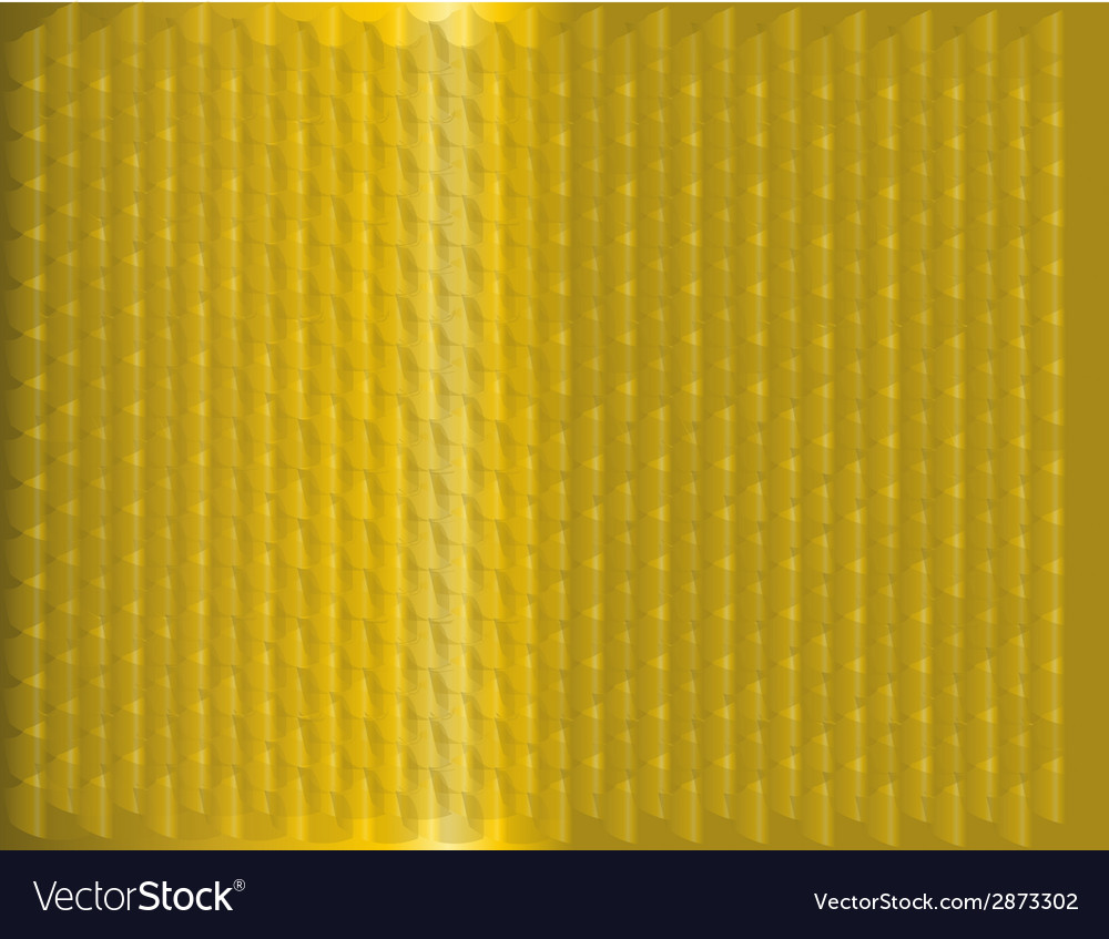 Yellow curve wave background vector | Price: 1 Credit (USD $1)