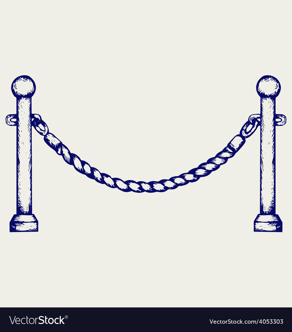 Barrier rope vector   Price: 1 Credit (USD $1)