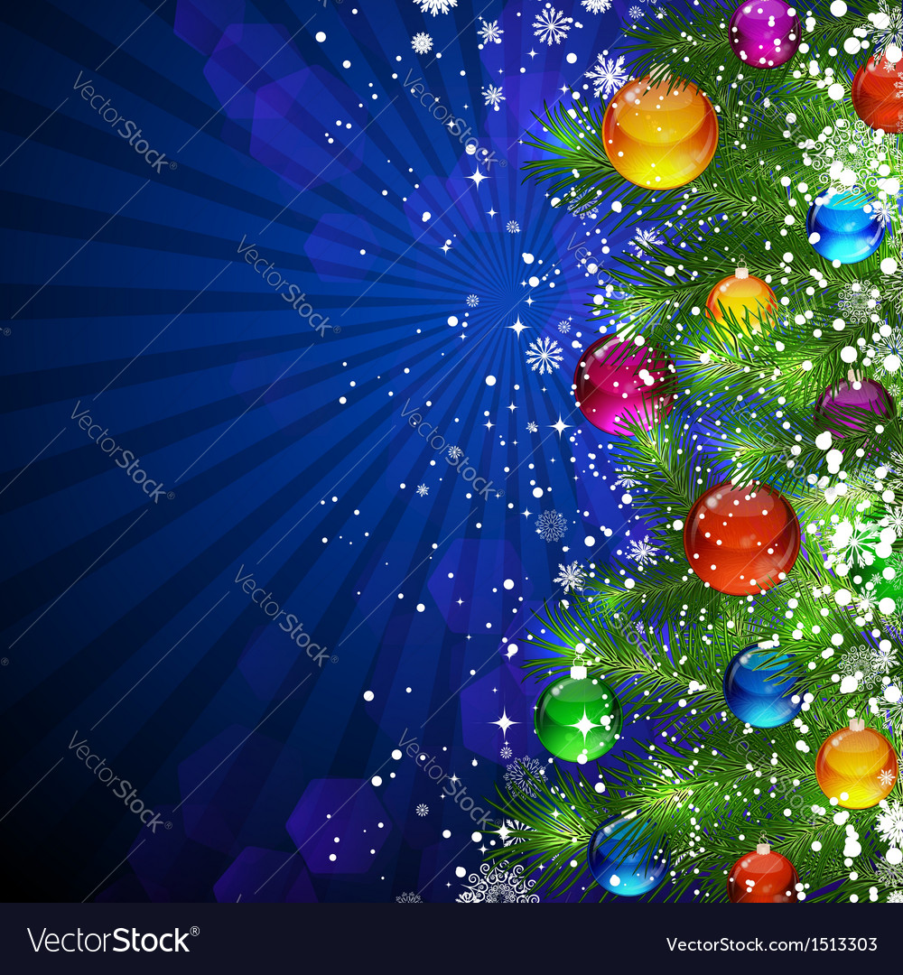 Christmas bright background vector | Price: 3 Credit (USD $3)