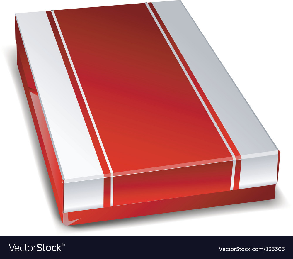 Closed box vector | Price: 1 Credit (USD $1)