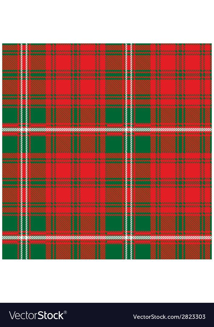 Seamless pattern scottish tartan royal stewart vector | Price: 1 Credit (USD $1)