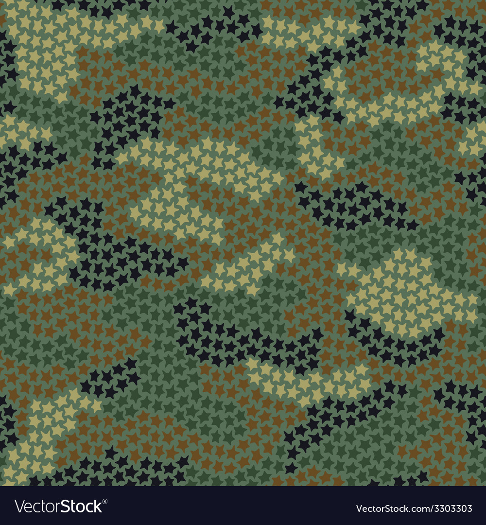 Stars camouflage vector | Price: 1 Credit (USD $1)