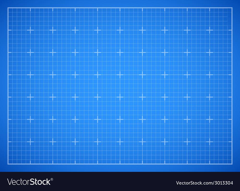 Blue square grid blueprint vector | Price: 1 Credit (USD $1)