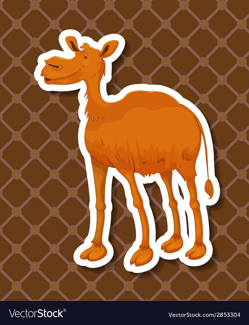 Camel vector | Price: 1 Credit (USD $1)