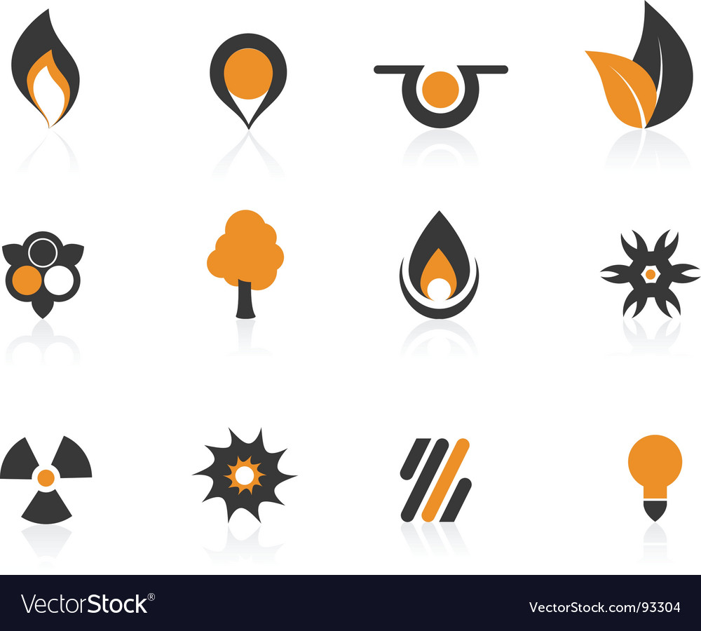 Colored icons vector | Price: 1 Credit (USD $1)