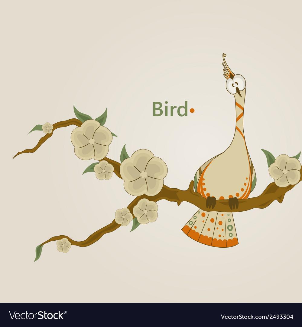 Funny bird vector | Price: 1 Credit (USD $1)