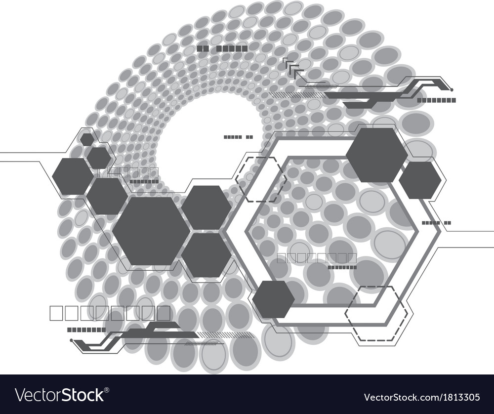 Abstract technology design vector | Price: 1 Credit (USD $1)