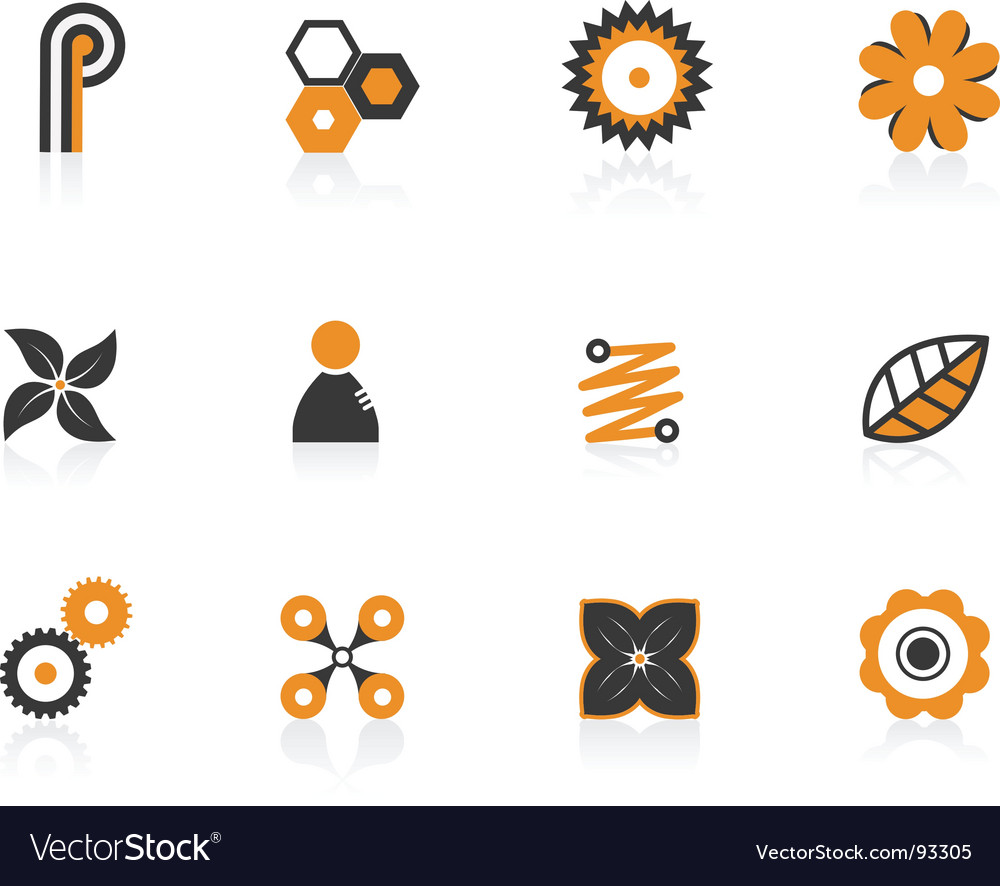 Colored icons vector   Price: 1 Credit (USD $1)
