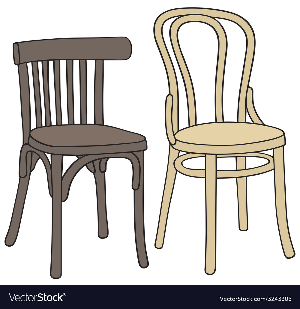 Old chairs vector | Price: 1 Credit (USD $1)
