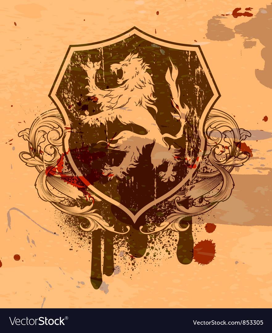 Vintage grunge emblem vector | Price: 1 Credit (USD $1)