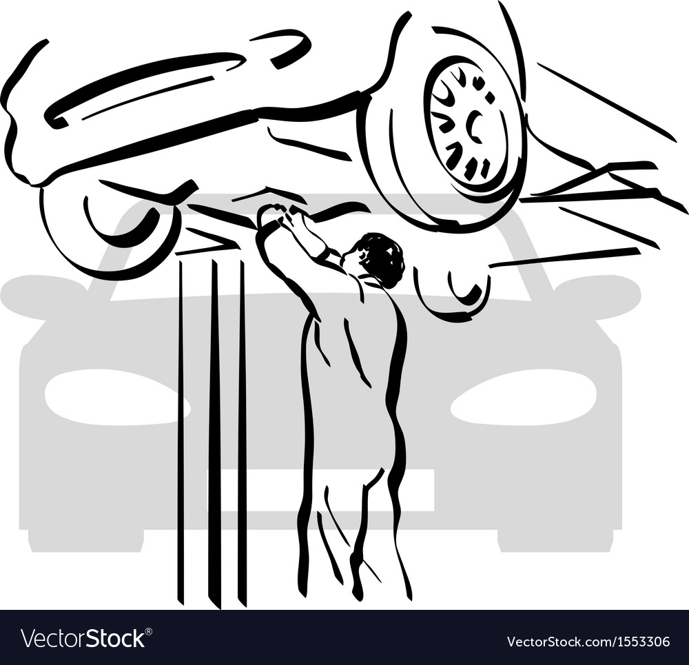 Auto repair 1 vector | Price: 1 Credit (USD $1)