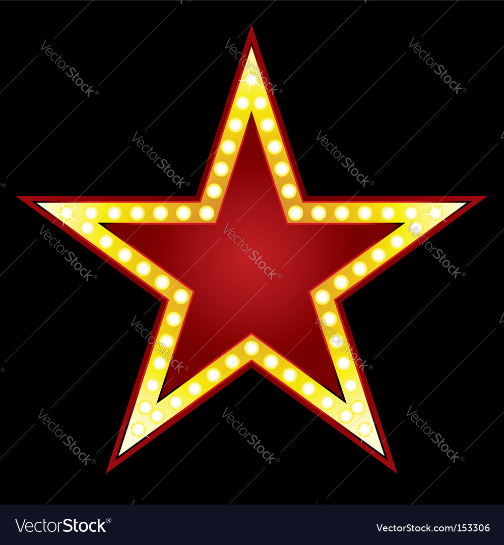 Big star vector | Price: 1 Credit (USD $1)