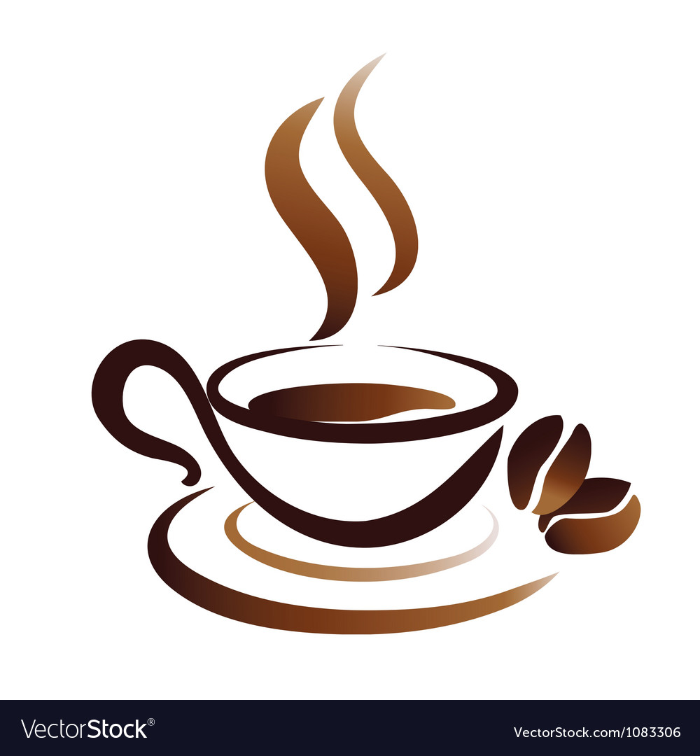 Coffee cup icon vector | Price: 1 Credit (USD $1)