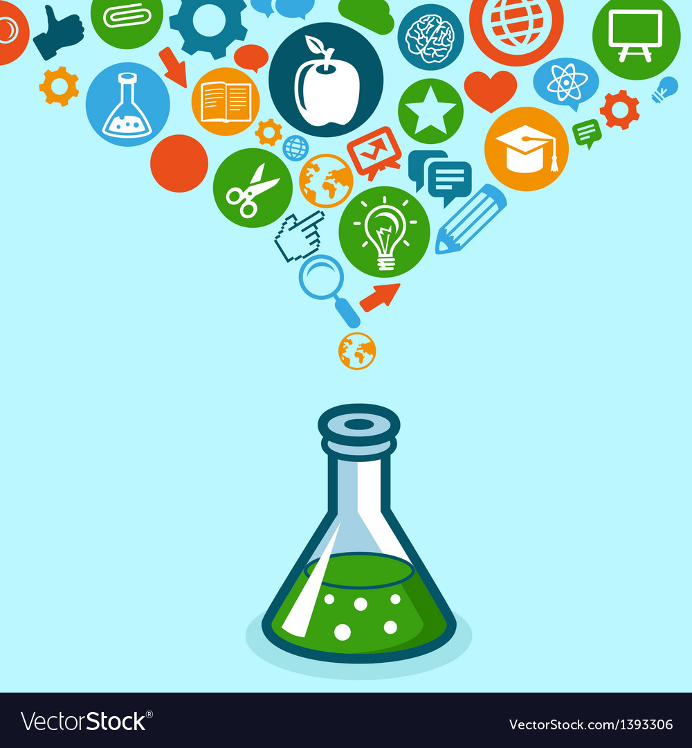 Education and science concept vector | Price: 1 Credit (USD $1)