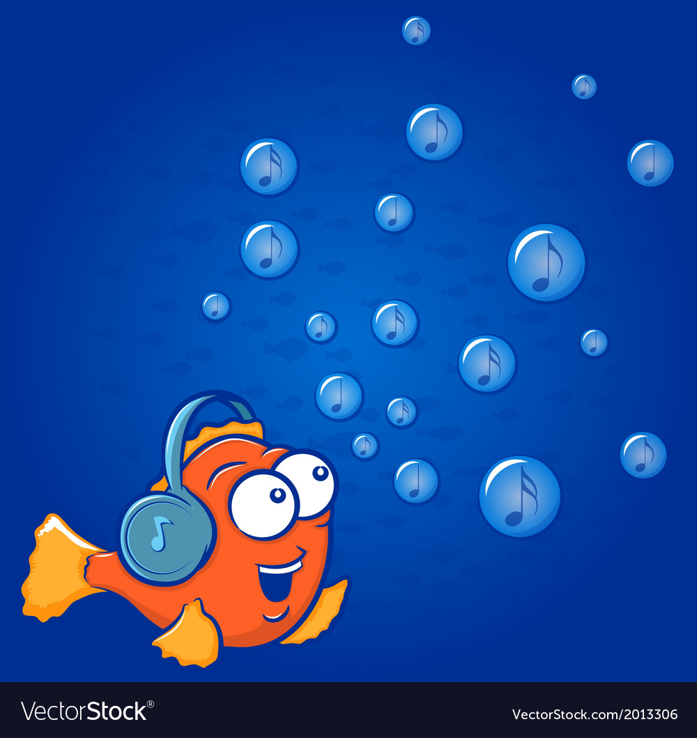 Fish music vector   Price: 1 Credit (USD $1)