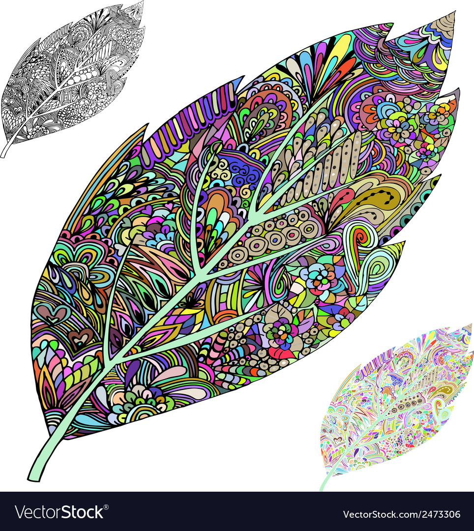 Tree leaf vector | Price: 1 Credit (USD $1)