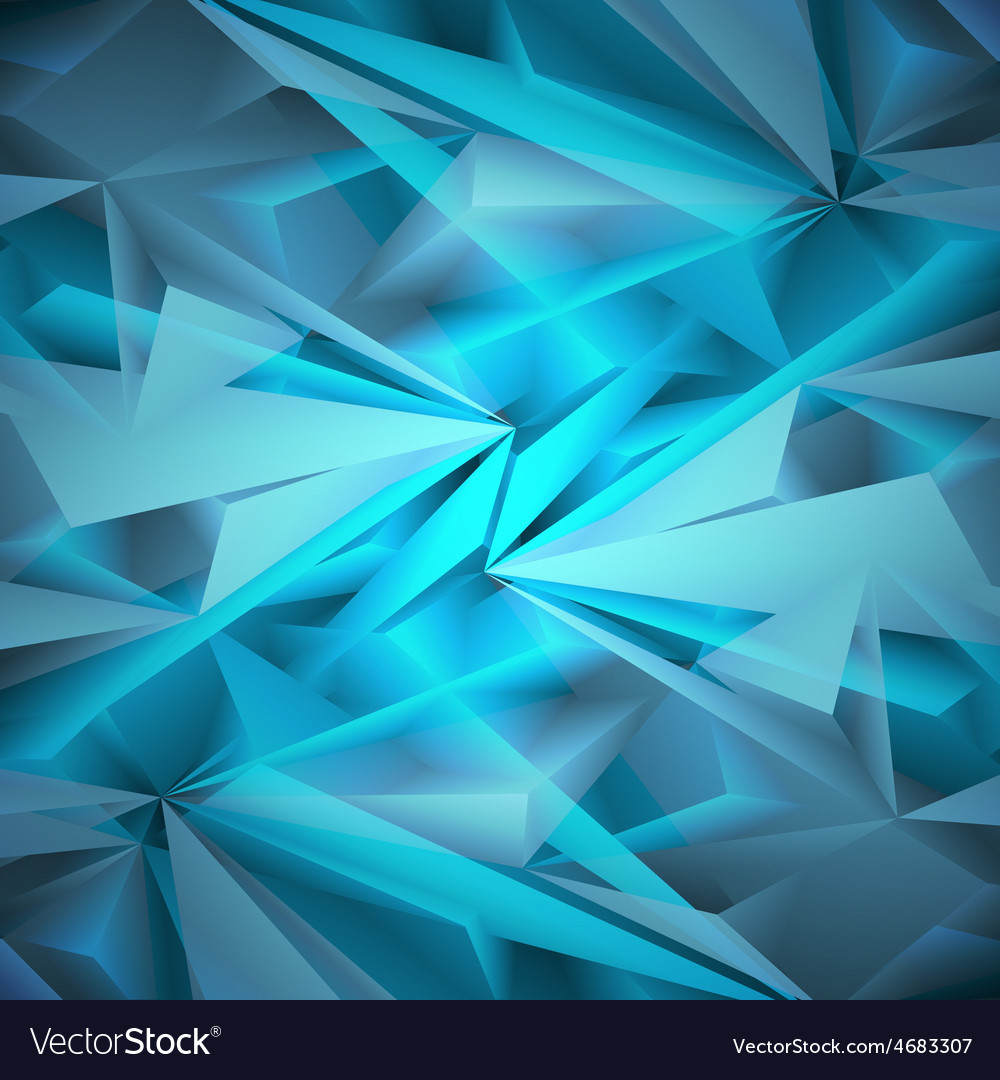 Abstract geometrical blue background vector | Price: 1 Credit (USD $1)