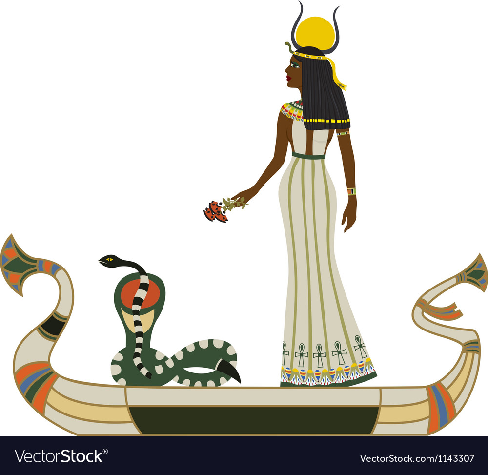 Egyptian god vector | Price: 3 Credit (USD $3)