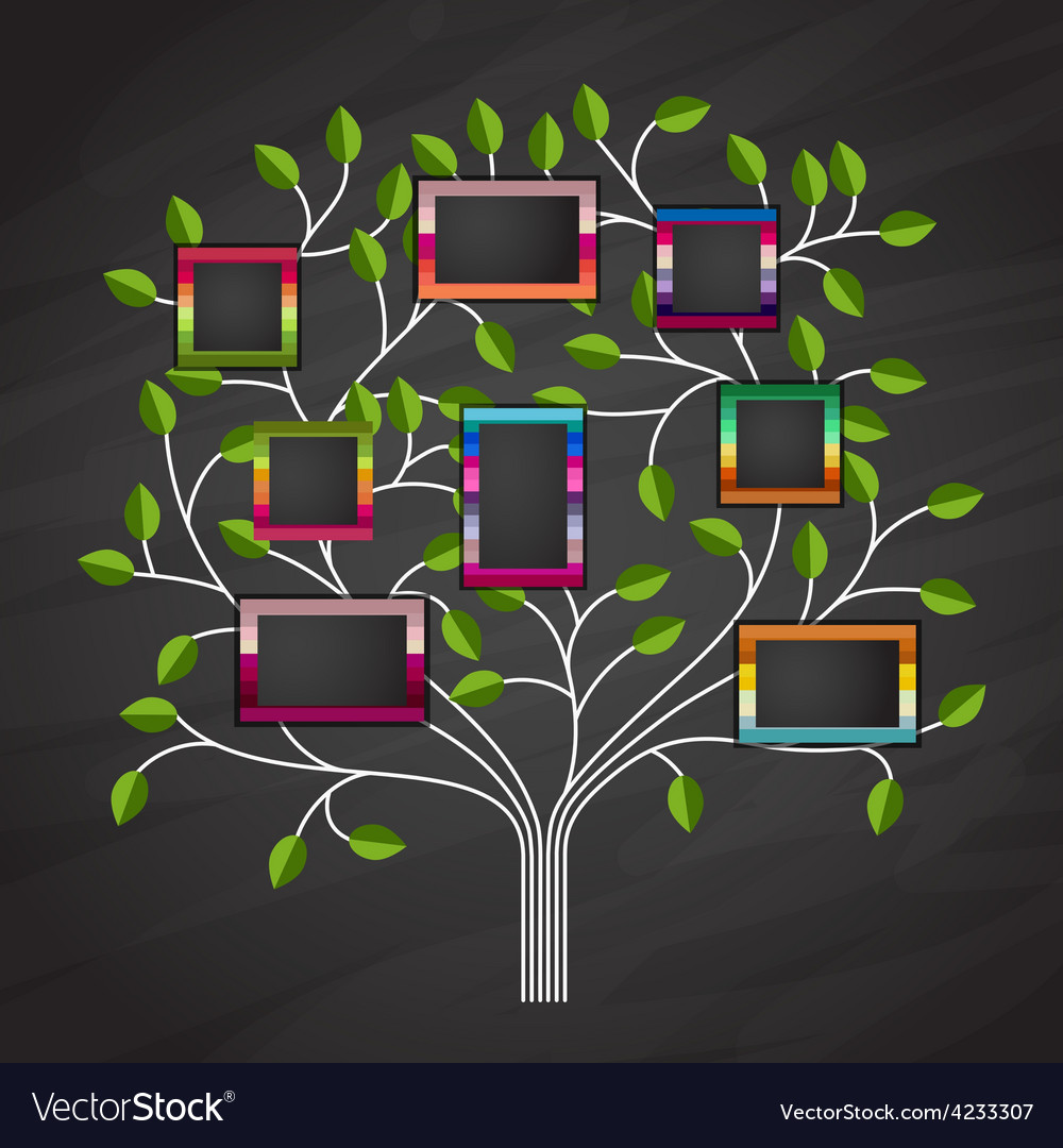 Memory tree vector | Price: 1 Credit (USD $1)