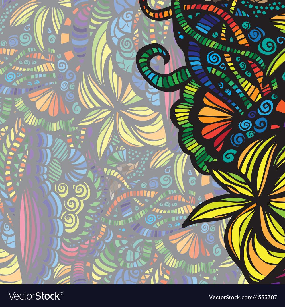 Modern colorful invitation card vector | Price: 1 Credit (USD $1)