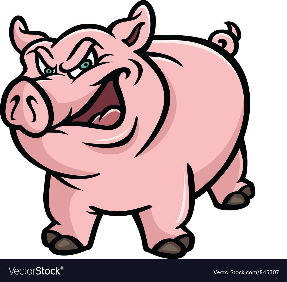 Pig mean vector | Price: 3 Credit (USD $3)