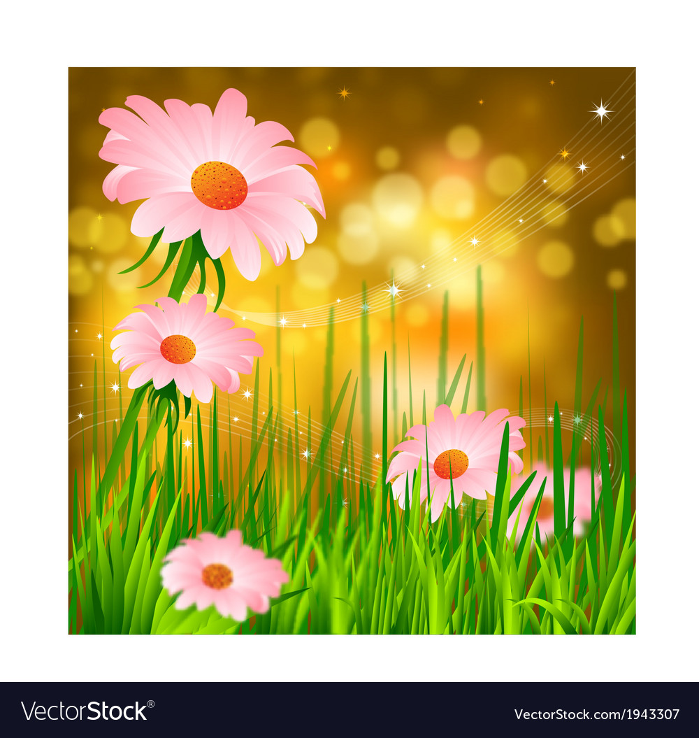 Spring background vector   Price: 1 Credit (USD $1)
