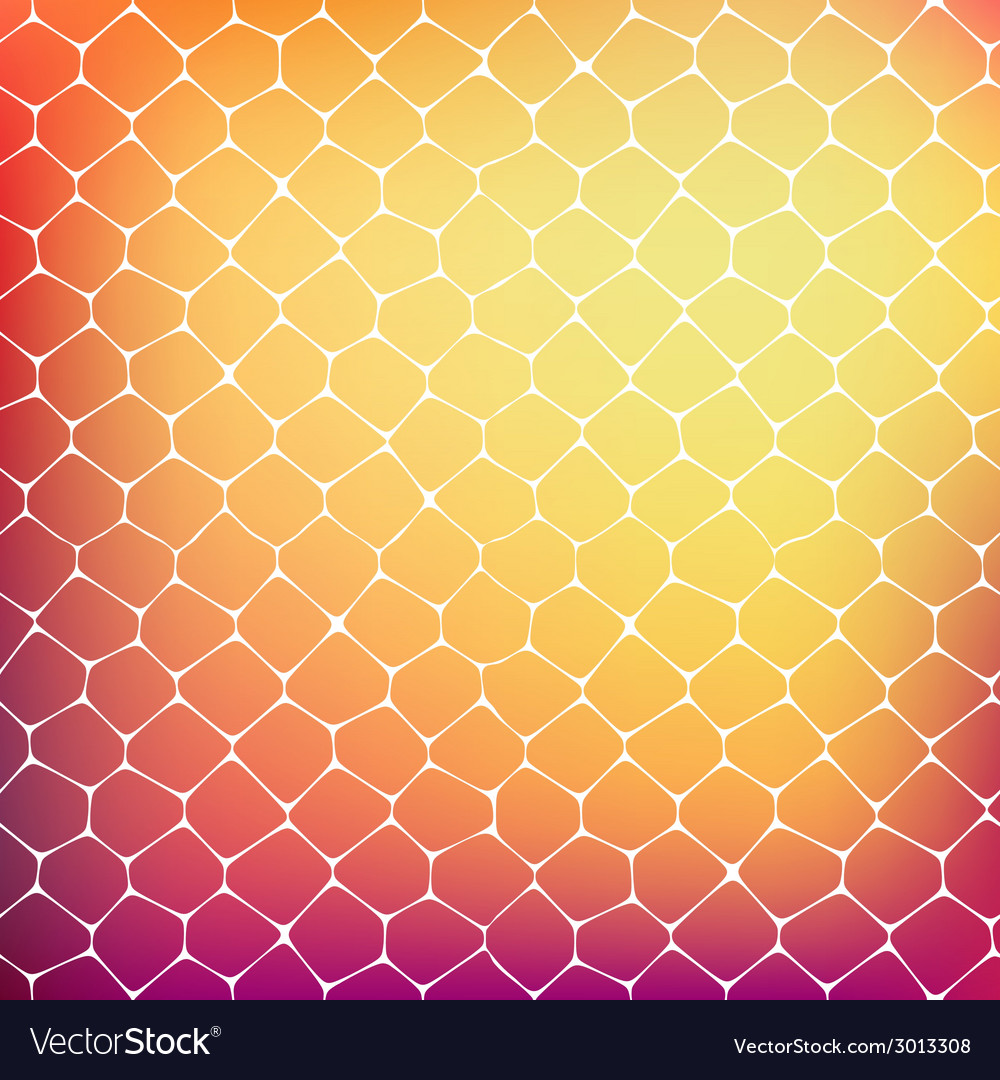 Abstract background of colored cells vector | Price: 1 Credit (USD $1)