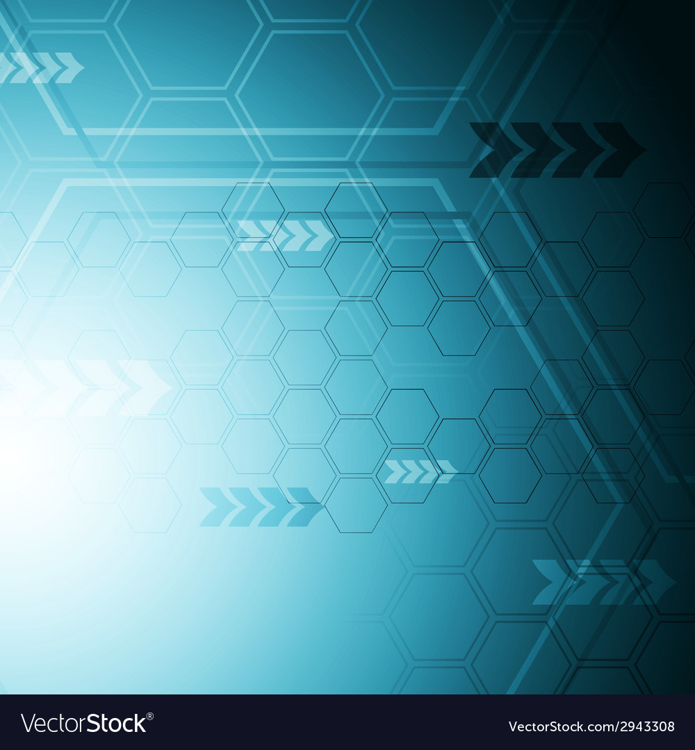 Blue hi-tech abstract background vector | Price: 1 Credit (USD $1)