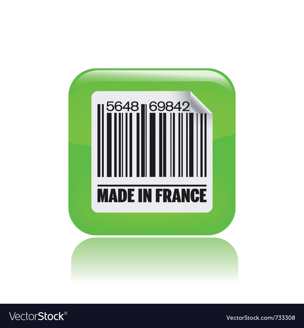 French label icon vector | Price: 1 Credit (USD $1)
