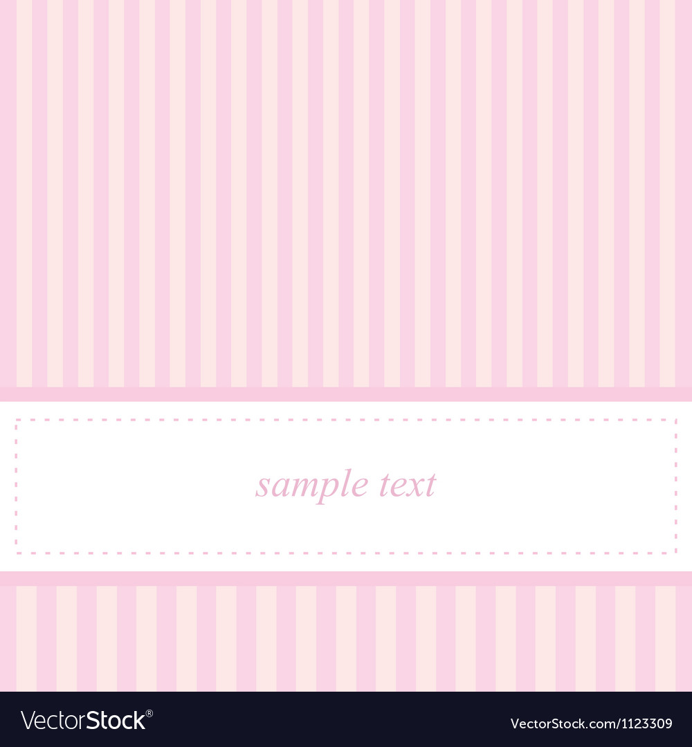 Card invitation template for baby shower wedding vector   Price: 1 Credit (USD $1)