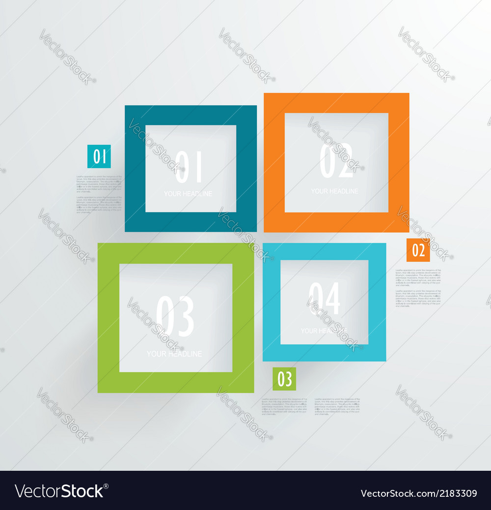 Frames numbers vector | Price: 1 Credit (USD $1)