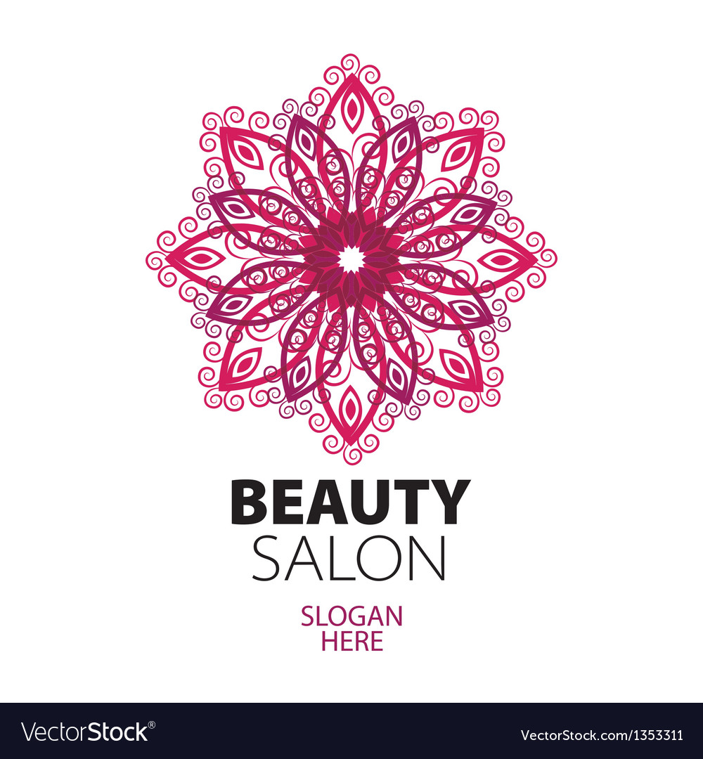 Abstract logo lace for beauty salon vector | Price: 1 Credit (USD $1)