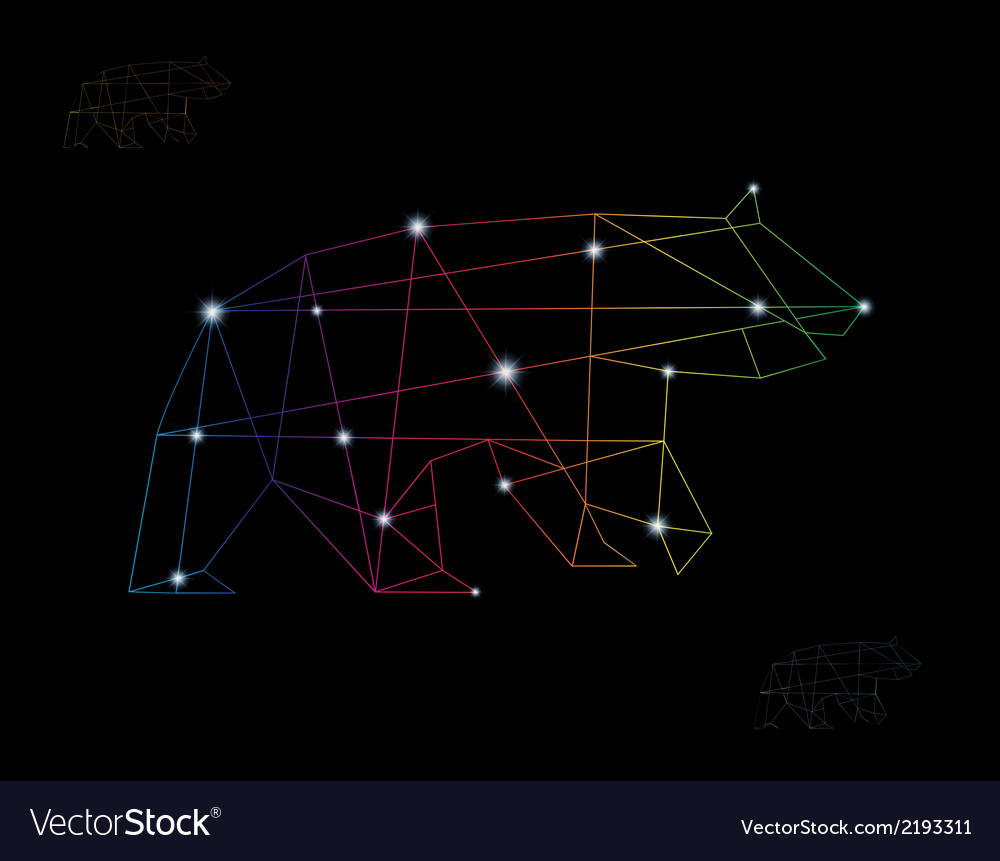 Bear abstract vector | Price: 1 Credit (USD $1)