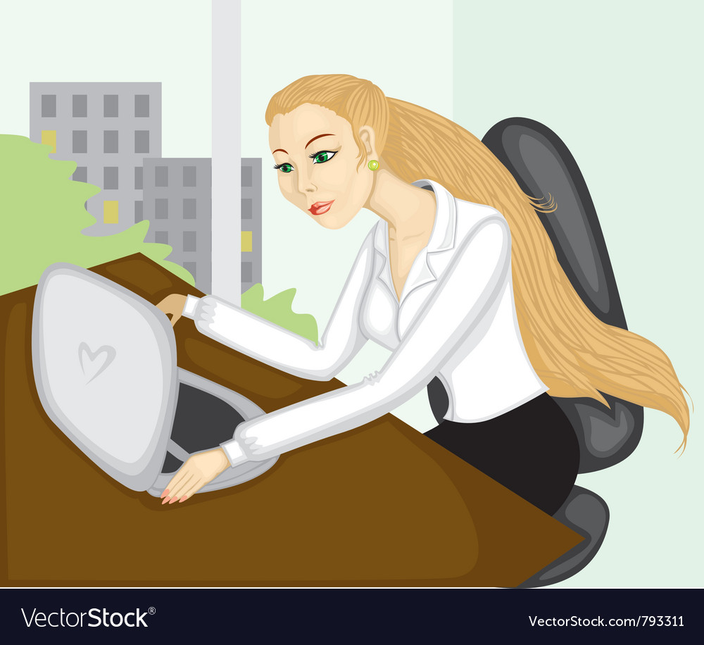 Business lady vector | Price: 1 Credit (USD $1)