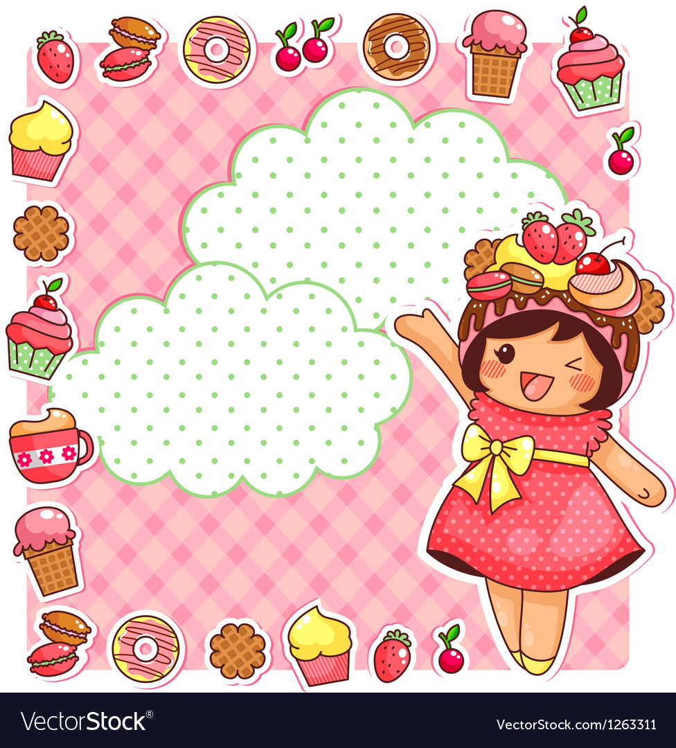 Sweet collection vector | Price: 3 Credit (USD $3)
