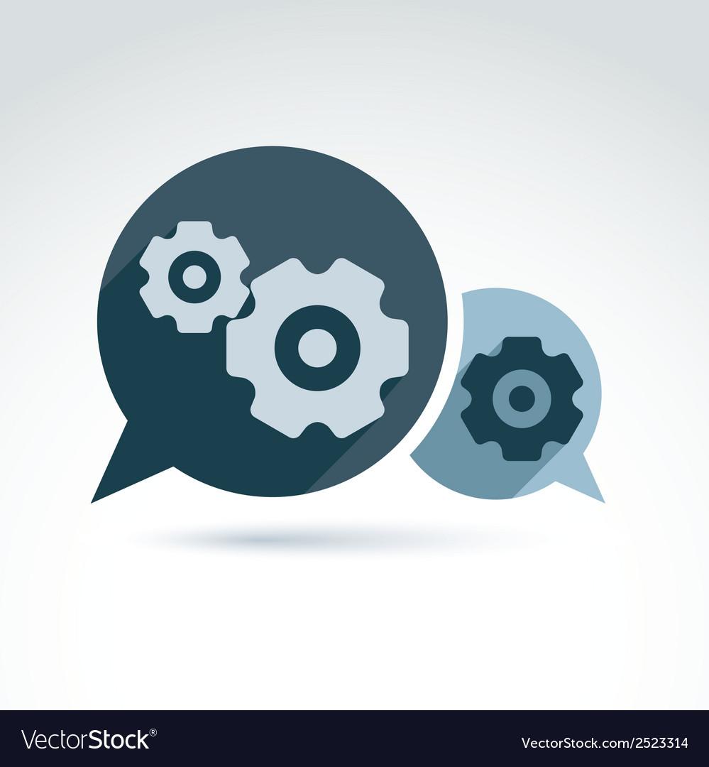 Gears - enterprise system theme organiza vector   Price: 1 Credit (USD $1)