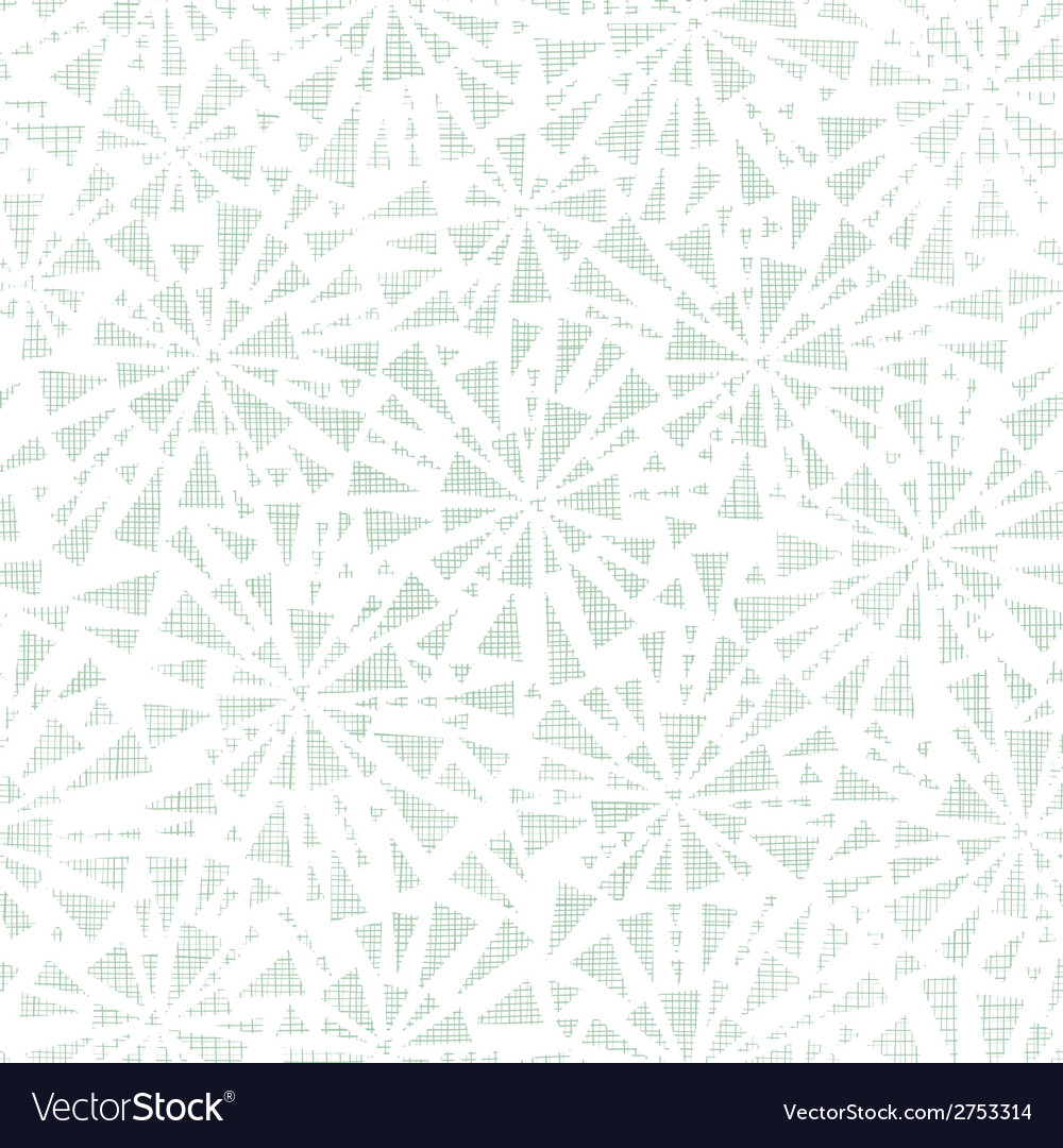 Green abstract triangles textile texture seamless vector | Price: 1 Credit (USD $1)