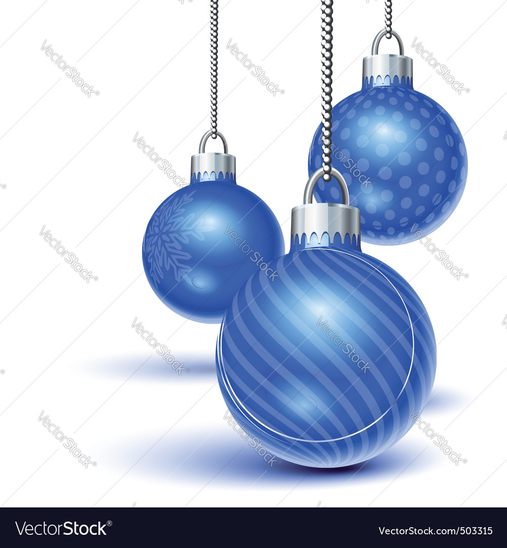 Christmas ornaments vector | Price: 1 Credit (USD $1)
