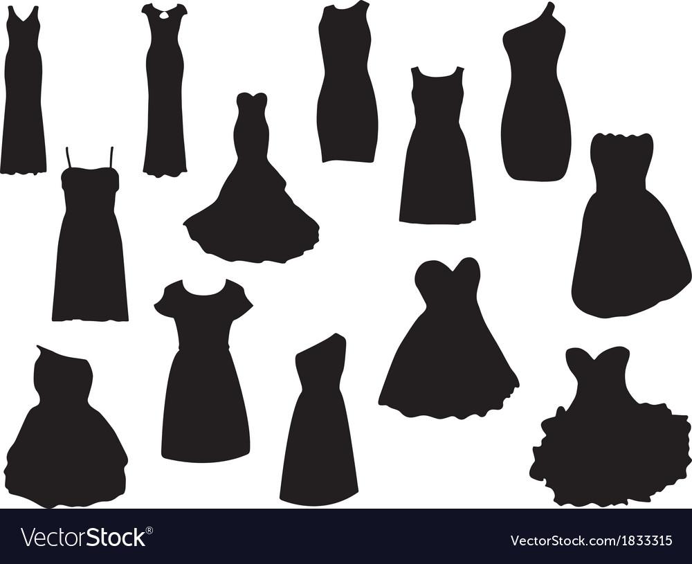 Dresses vector | Price: 1 Credit (USD $1)