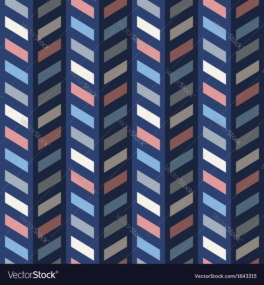 Fashion abstract geometrical chevron pattern vector | Price: 1 Credit (USD $1)