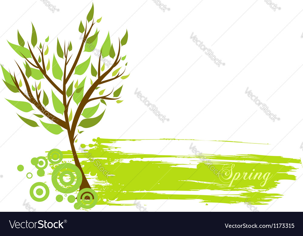 Spring grunge vector | Price: 1 Credit (USD $1)