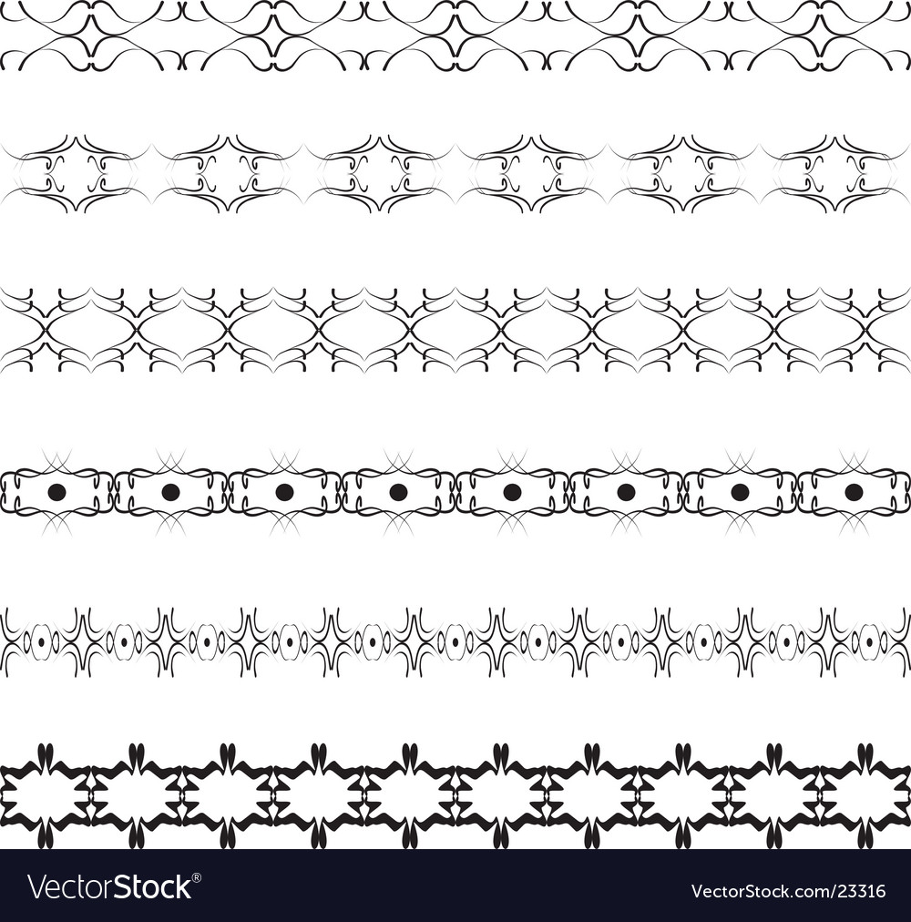 Beauty borders vector | Price: 1 Credit (USD $1)