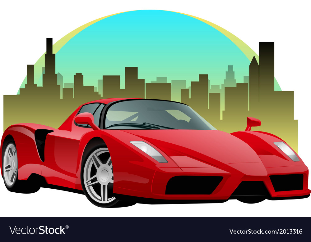 Ferrari vector | Price: 1 Credit (USD $1)